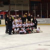 Photo taken at Blackburn Ice Arena by Jake on 9/2/2013