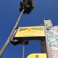 Photo taken at Taqueria El Farolito by Steve C. on 9/29/2012