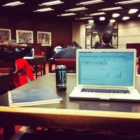 Photo taken at Robarts Library by Alteralec on 11/25/2012