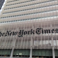 Photo taken at New York Times Building by Olga S. on 9/2/2013