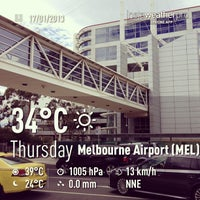 Photo taken at Melbourne Airport (MEL) by Mooksy ♔. on 1/17/2013