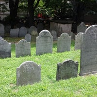 Photo taken at King's Chapel Burying Ground by Tom C. on 7/21/2013