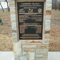 Photo taken at Sam Houston Trails Park by Debbie K. on 12/19/2012