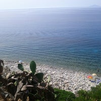 Photo taken at Spiaggia Seccheto by Laura C. on 8/4/2013