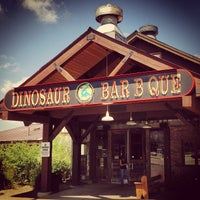 Photo taken at Dinosaur Bar-B-Que by Mark B. on 7/4/2013