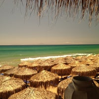 Photo taken at Anemos Beach Bar by Vasileas on 6/26/2013