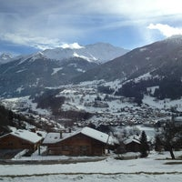 Photo taken at Hotel Montpelier Verbier by T C. on 1/13/2013