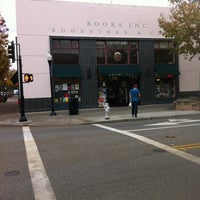 Photo taken at Books Inc. by Wil C. on 12/4/2012