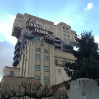 Photo taken at The Twilight Zone Tower of Terror by Jack D. on 2/6/2013