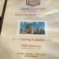 Photo taken at Elena's Greek Armenian Cuisine by Narine on 9/19/2016