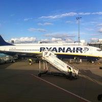 Photo taken at Frankfurt-Hahn Airport (HHN) by Ben B. on 7/14/2012