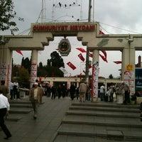 Photo taken at Bakırköy Özgürlük Meydanı by ✈️⚓️ Turgut天利用:)き痔 Sayman⚓️✈️ on 10/29/2012