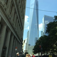 Photo taken at World Trade Center Construction Security by Brian on 8/10/2014