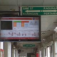 Photo taken at Halte TransJakarta Departemen Pertanian by Baldy P. on 3/15/2013