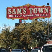 Photo taken at Sam's Town Hotel & Gambling Hall by Wally S. on 1/13/2013