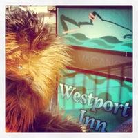 Photo taken at The Westport Inn by *~RAD~* D. on 10/4/2013