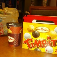 Photo taken at Tim Hortons by Emma R. on 4/11/2013