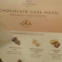 Photo taken at Godiva Chocolatier by WITLYN M. on 4/6/2016