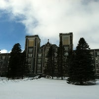 Photo taken at The College of St. Scholastica by Donna M. on 3/3/2013