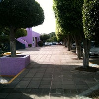 Photo taken at Universidad del Valle de Atemajac (UNIVA) by J E. on 11/5/2012