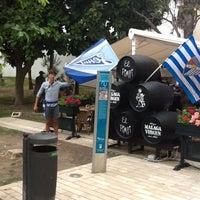Photo taken at Plaza de Maria Guerrero by Pasha on 9/18/2012