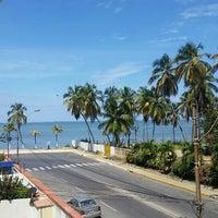 Photo taken at Playa Muerta by Jesus Alberto M. on 10/1/2015
