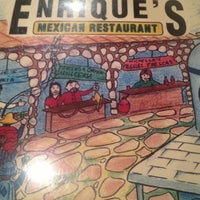Photo taken at Enrique's Mexican Restaurant by Valerie L. on 10/27/2012