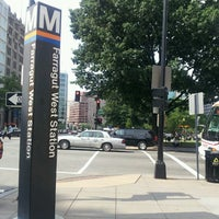 Photo taken at Farragut West Metro Station by Brad M. on 6/12/2013