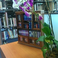 Photo taken at Biblioteca Juan Bosch FUNGLODE by Matias S. on 5/27/2014