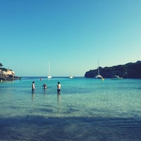 Photo taken at Cala Turqueta by Laia M. on 6/25/2013