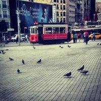 Photo taken at Taksim by Abdullah A. on 7/17/2013