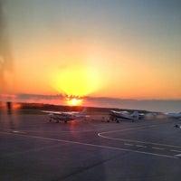 Photo taken at Khanty-Mansiysk International Airport (HMA) by Irina V. on 6/25/2013