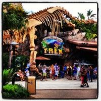 Photo taken at T-Rex Cafe by Karine C. on 6/2/2013