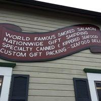 Photo taken at Josephson's Smokehouse by Elizabeth M. on 1/22/2014