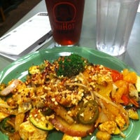Photo taken at HuHot Mongolian Grill by Justin D. on 12/10/2012