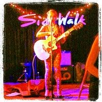 "Photo taken at Sidewalk Bar & Restaurant by ""Jack"" Barton L. on 4/22/2013"