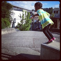 Photo taken at Seattle Public Library - Fremont Branch by Steph T. on 6/14/2013