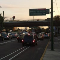 Photo taken at Av. División del Norte by Manuel G. on 12/16/2012