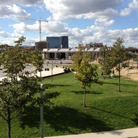 Photo taken at Park Spoor Noord by Dirk K. on 10/7/2012
