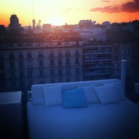 Photo taken at Terraza Room Mate Óscar by Polina B. on 7/2/2013