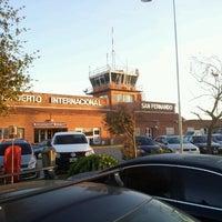 Photo taken at Aeropuerto Internacional de San Fernando (FDO) by Fernando T. on 9/14/2012