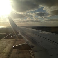 Photo taken at Aeropuerto de Fuerteventura (FUE) by Albita G. on 5/23/2013