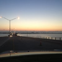 Photo taken at Eau Gallie Causeway by Erik H. on 3/29/2013