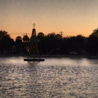 Photo taken at Colonial Lake by Matches M. on 12/18/2012
