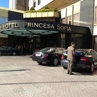 Photo taken at Gran Hotel Princesa Sofía by Husam E. on 5/30/2013