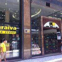 Photo taken at Saraiva MegaStore by Breno A. on 11/24/2012