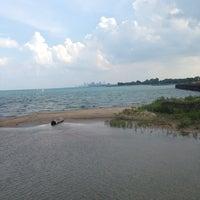 Photo taken at Northwestern Lakeside Field by Sinem E. on 6/27/2014