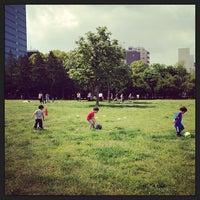 Photo taken at Kiba Park by ussy1110 on 5/18/2013