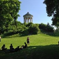 Photo taken at Englischer Garten by Viv S. on 6/8/2013