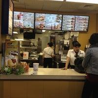 Photo taken at Burger King by Sean O. on 10/19/2012